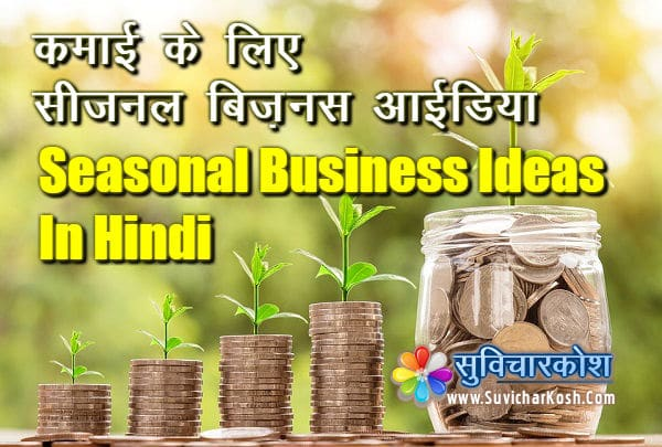 seasonal business ideas hindi
